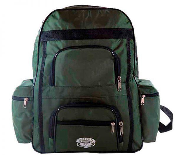 mochila escolar confeccionada em tecido nike